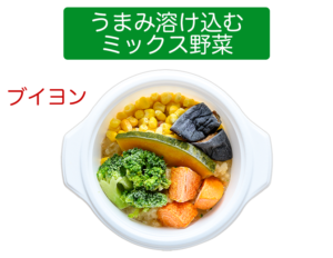 ウェルネスダイニング ベジ活スープ まみ溶け込むミックス野菜